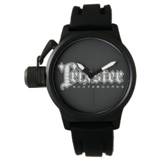 Trixster Skateboards Distressed Logo Watch