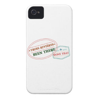 Trois-Rivières Been there done that iPhone 4 Case-Mate Cases