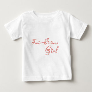 Trois-Rivières Girl Baby T-Shirt