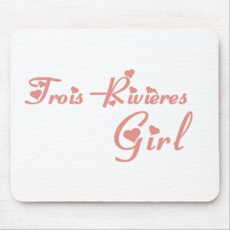 Trois-Rivières Girl Mouse Pad