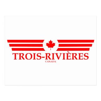 TROIS-RIVIÈRES POSTCARD