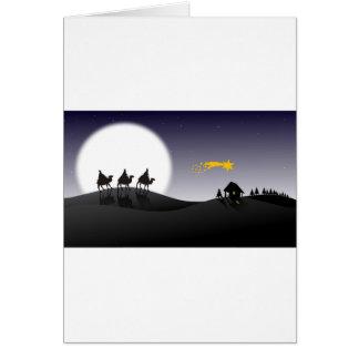 Trois rois cartes de vœux