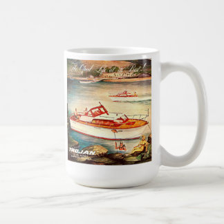 Trojan Boats Coffee Mug