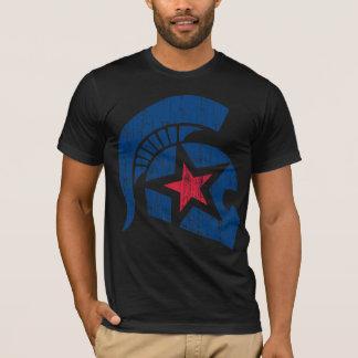 Trojan Moto (blu/red) vintage T-Shirt