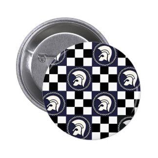 Trojan Ska 2 Inch Round Button
