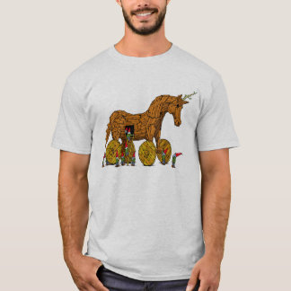 Trojan Unicorn T Shirt