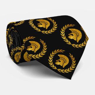 Trojan Warrior in Gold Tie