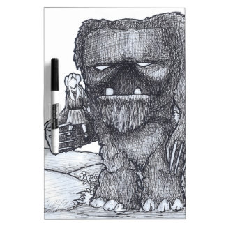 Troll and Companion drawing Dry-Erase Boards