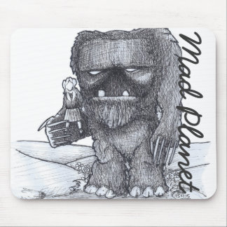 Troll and Companion drawing Mouse Pad