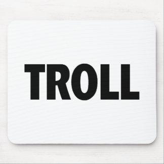 Troll Black Mouse Pad