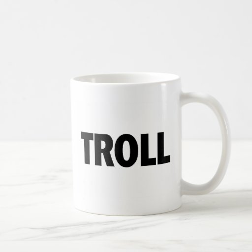 Troll Black Mug