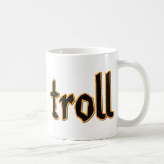 Troll Classic White Coffee Mug