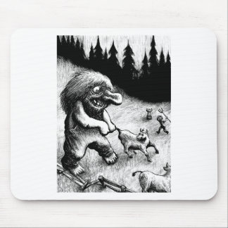 troll-clipart-13 mouse pad