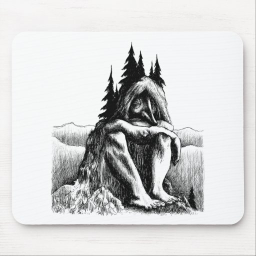 troll-clipart-14 mouse pad