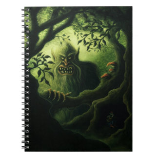 troll country fantasy notebook