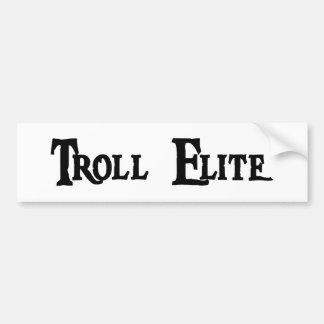Troll Elite Bumper Sticker