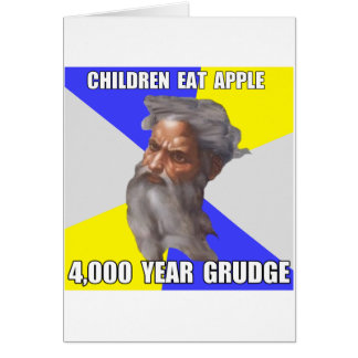 Troll God Grudge Card