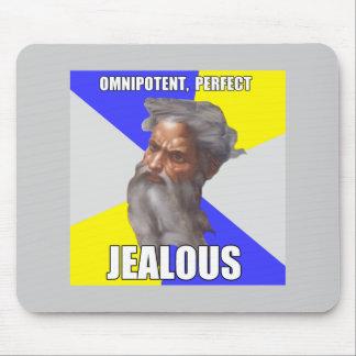 Troll God Jealous Mouse Pad