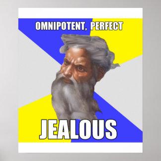 Troll God Jealous Posters