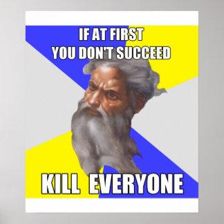Troll God Kills Poster