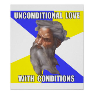Troll God Unconditional Love Poster