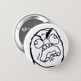 Troll Le Me Memes made Editable CHOOSE YOUR COLOR 2 Inch Round Button