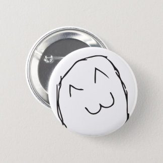 Troll Le Me Memes naive CHOOSE YOUR COLOR EDITABLE 2 Inch Round Button