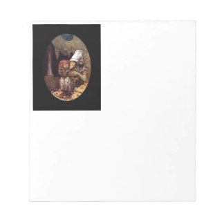 Troll Mother and Child by Campfire Notepads