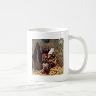 Troll Mother Beside a Campfire Classic White Coffee Mug