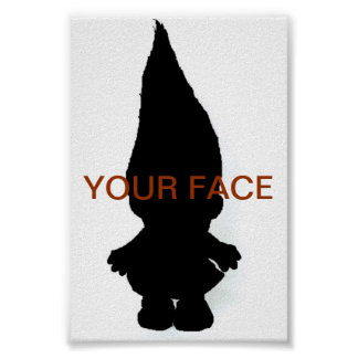 Troll Picture Frame Poster