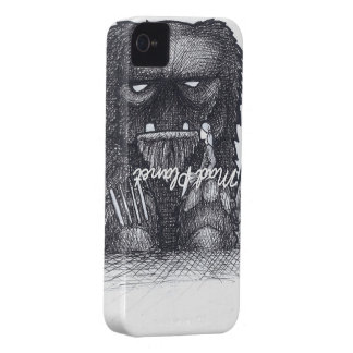 Troll Stump Drawing Case-Mate iPhone 4 Cases