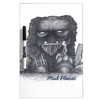 Troll Stump Drawing Dry-Erase Whiteboard