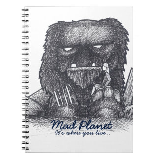 Troll Stump Drawing Spiral Note Books