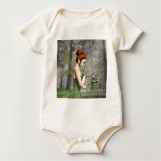 Troll Tells a Tall Tale Baby Bodysuit