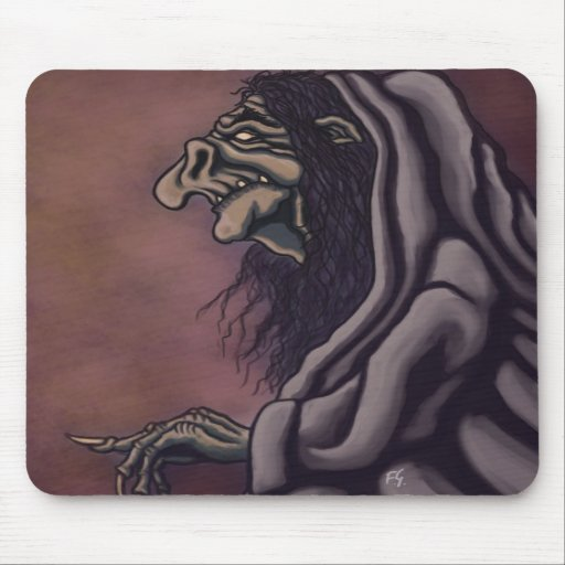 troll witch mousepads