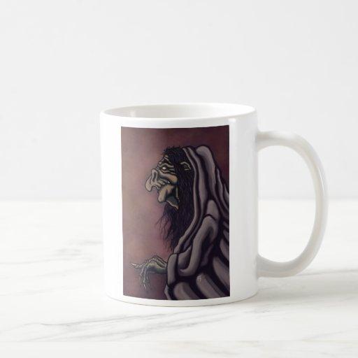 troll witch coffee mugs