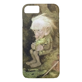 Troll with his Pet Frog (Detail) iPhone 8/7 Case