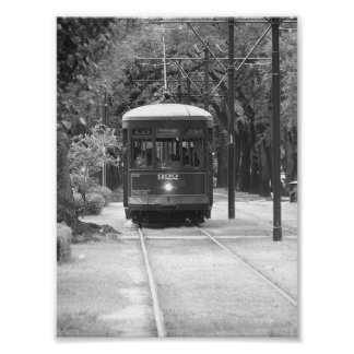 Trolley Cable Car Garden District New Orleans, LA Poster