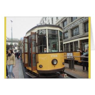 Trolley, Milan, Italy Card