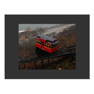 trolley postcard