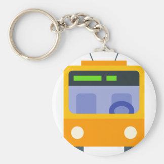 Trolleybus Keychain