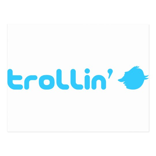 Trollin Postcard