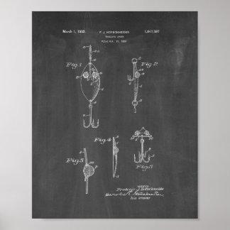 Trolling Spoon Patent - Chalkboard Posters