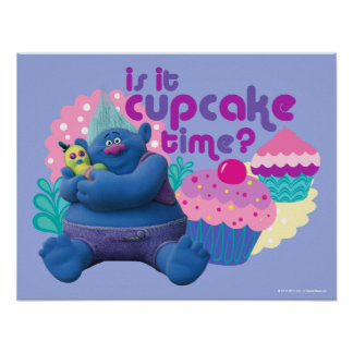 Trolls | Biggie - Is it Cupcake Time? 2 Poster
