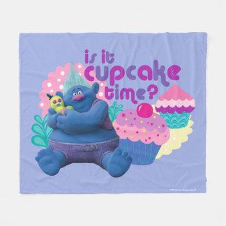 Trolls   Biggie - Is it Cupcake Time? Fleece Blanket