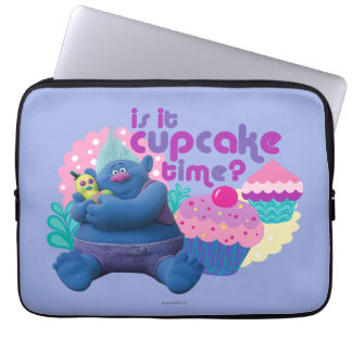 Trolls | Biggie - Is it Cupcake Time? Laptop Sleeve