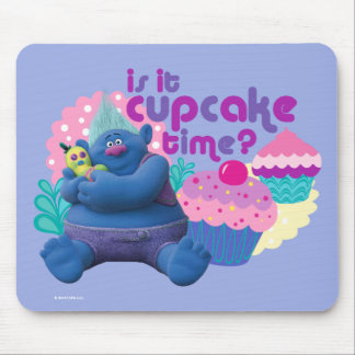 Trolls | Biggie - Is it Cupcake Time? Mouse Pad