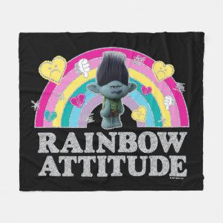Trolls   Branch Anti-Rainbow Fleece Blanket