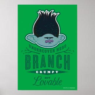 Trolls | Branch - Undercover Hero 2 Poster