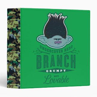 Trolls | Branch - Undercover Hero Vinyl Binders